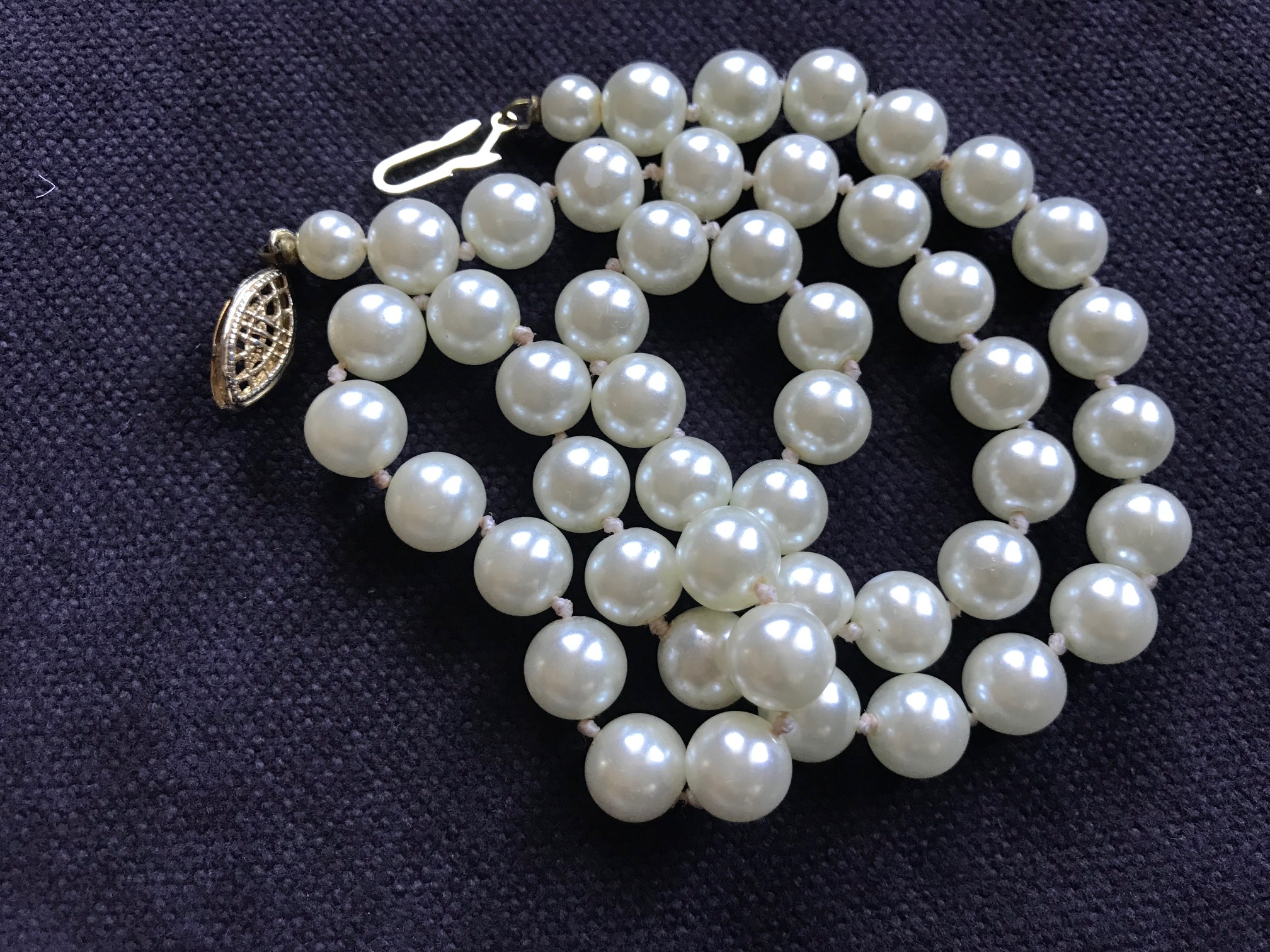 faux inspired chanel pearl designs june design pearls necklace shop classic doubled sablan main