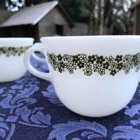 Spring Blossom Vintage Pyrex Cup Mug Tamara Rubin Lead Safe Mama 1