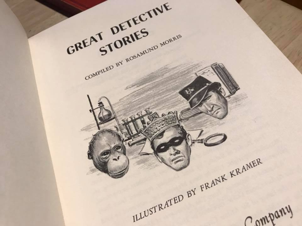 1965 Great Detective Stories Hardcover Book Lead Safe Mama Tamara Rubin