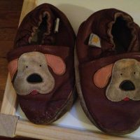 2013 Mini Star Puppy Dog Leather Baby Shoes Lead Safe Mama Tamara Rubin