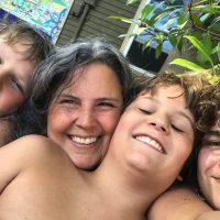 2018 Rubin Boys Selfie Tamara Rubin Lead Safe Mama