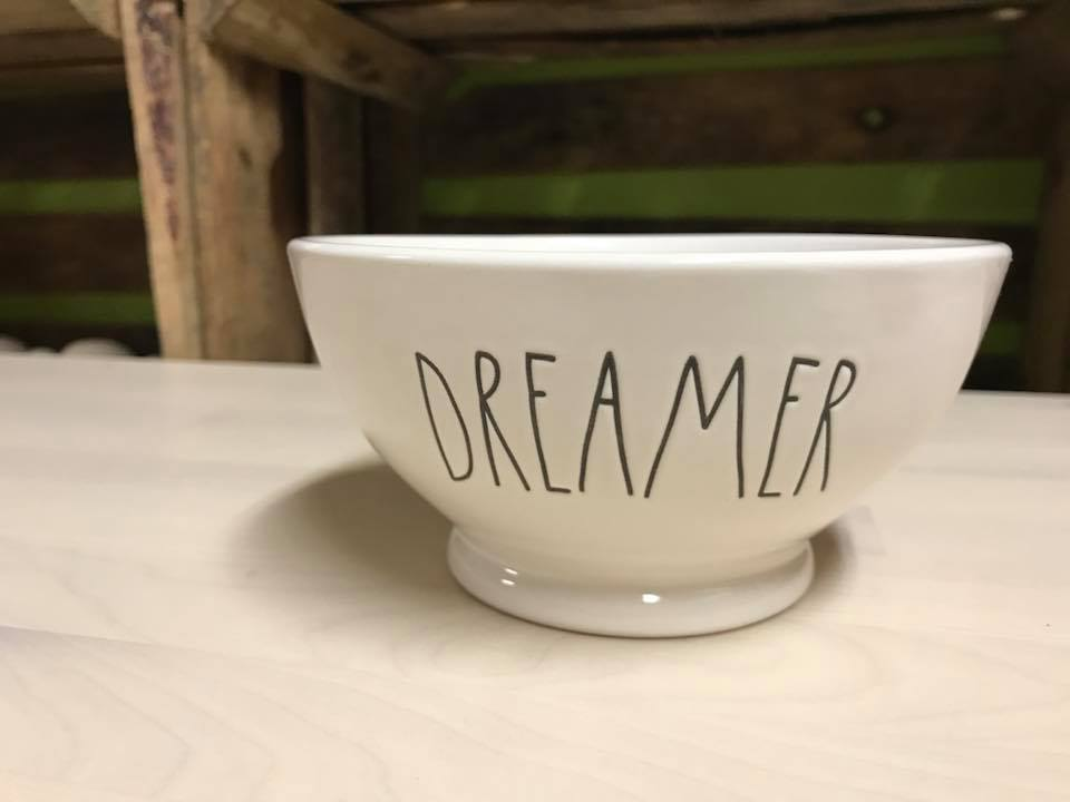 "Rae Dunn Artisan Collection by Magenta, ""Dreamer"" Bowl"