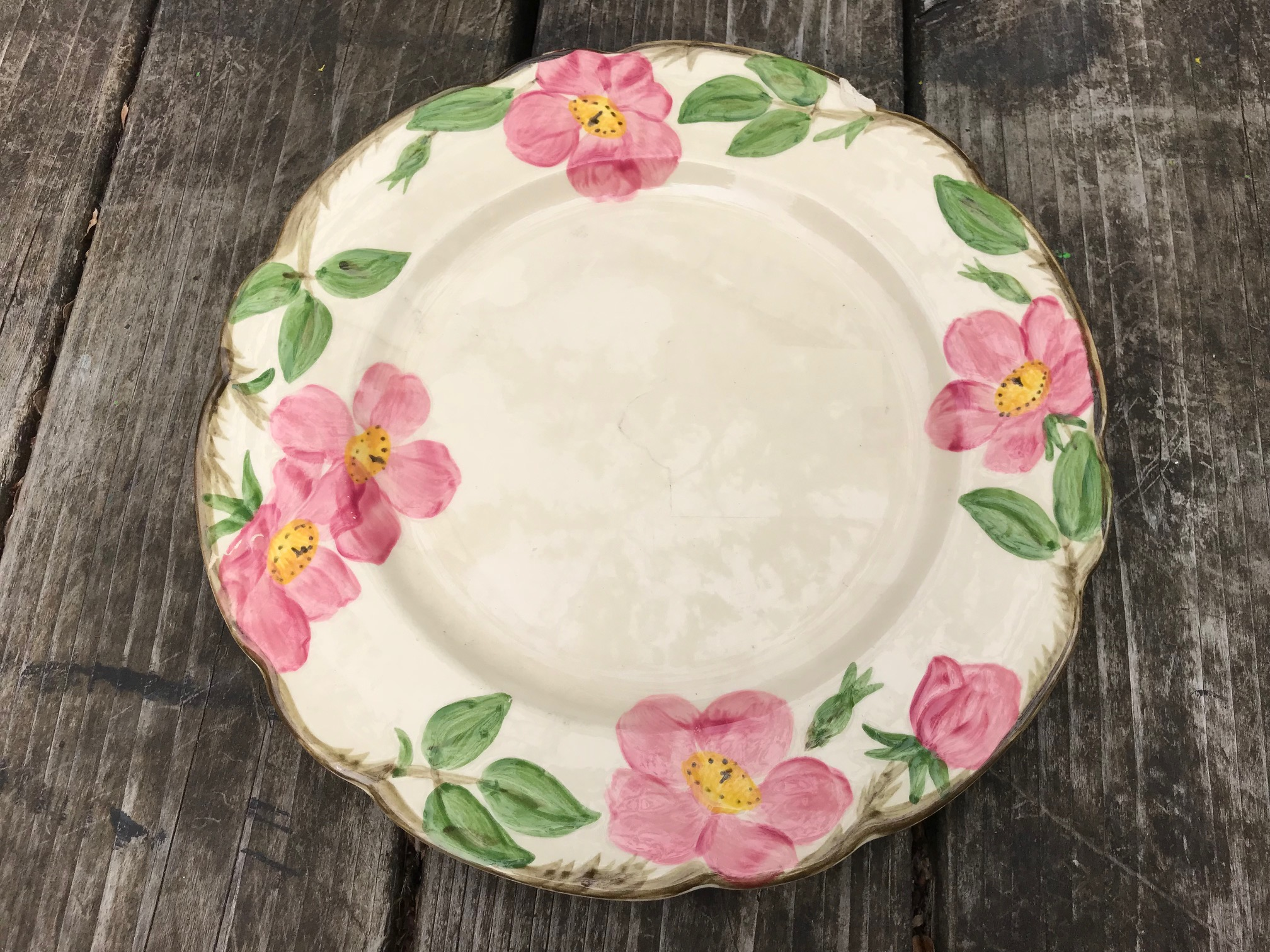 Franciscan Desert Rose Earthenware China, Made in USA c. 1941