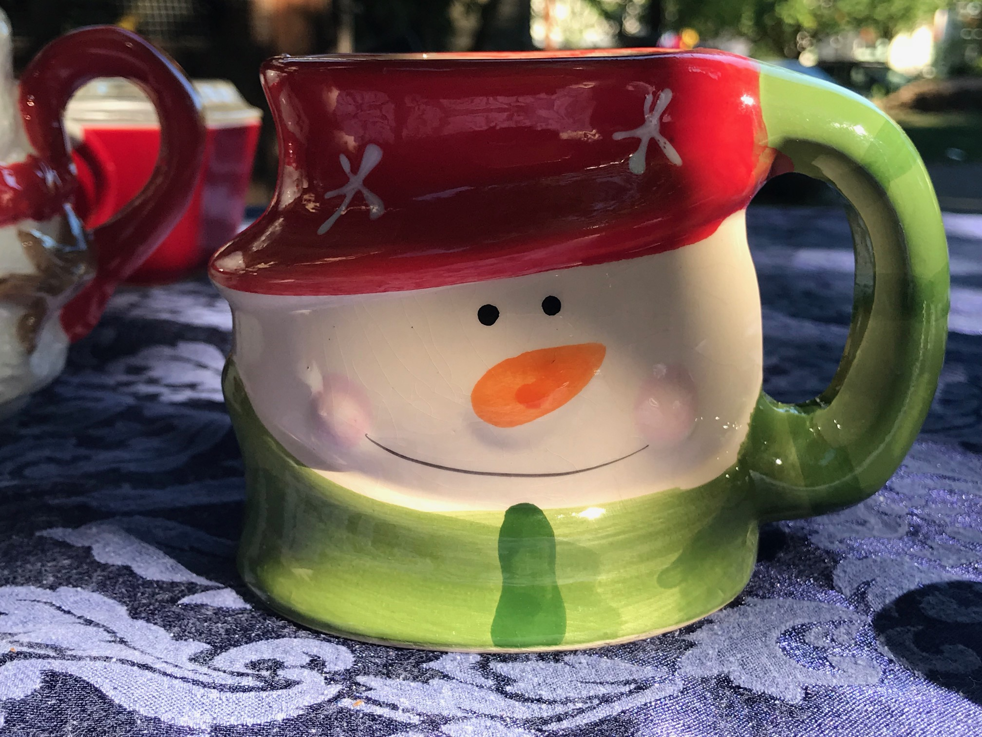 Ceramic Snowman Royal Lead539 Ppm Christmas Norfolk Mug1007 O0vmN8nw