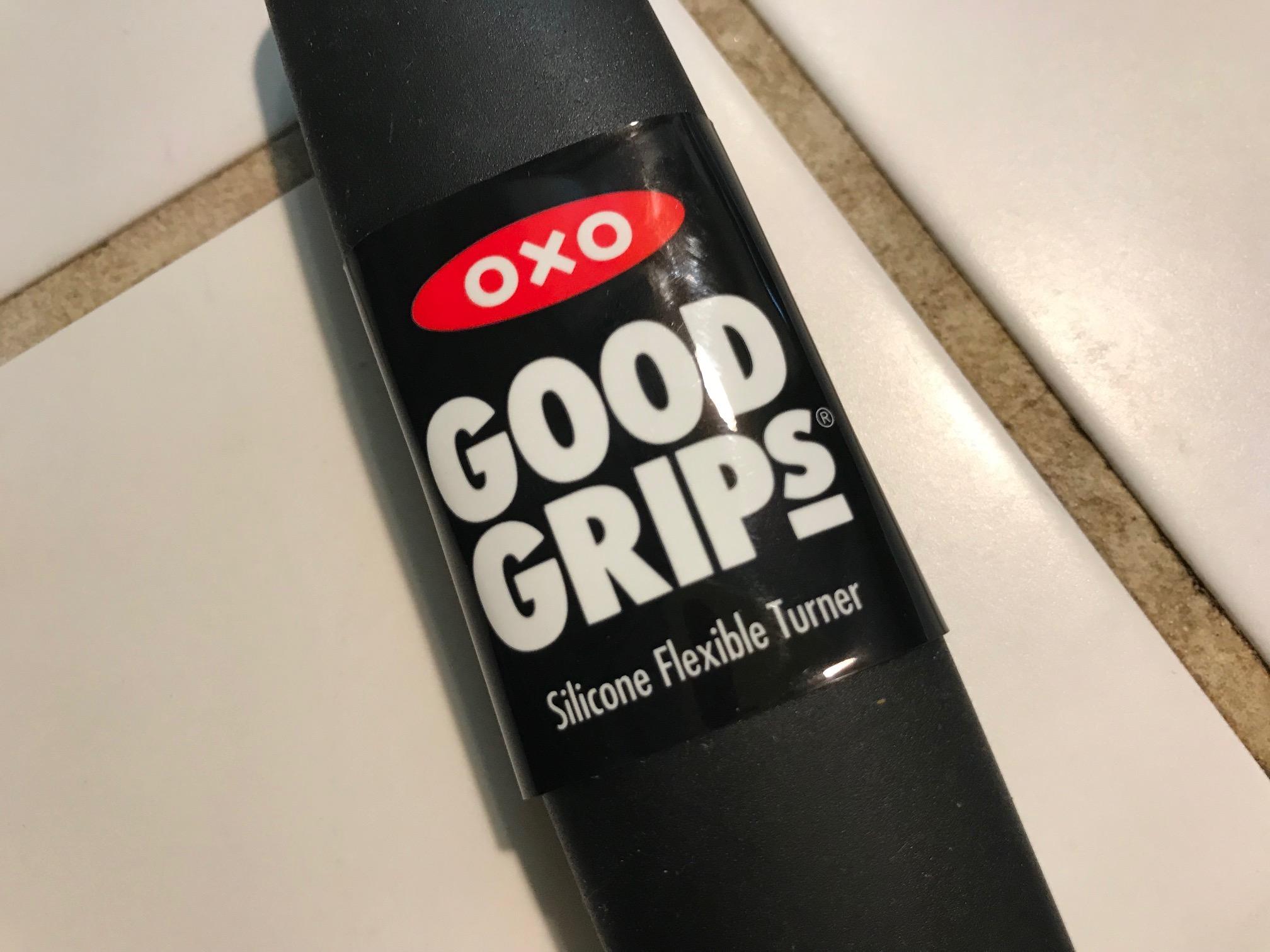 July 2018 New OXO GoodGrips Silicone Flexible Turner Spatula