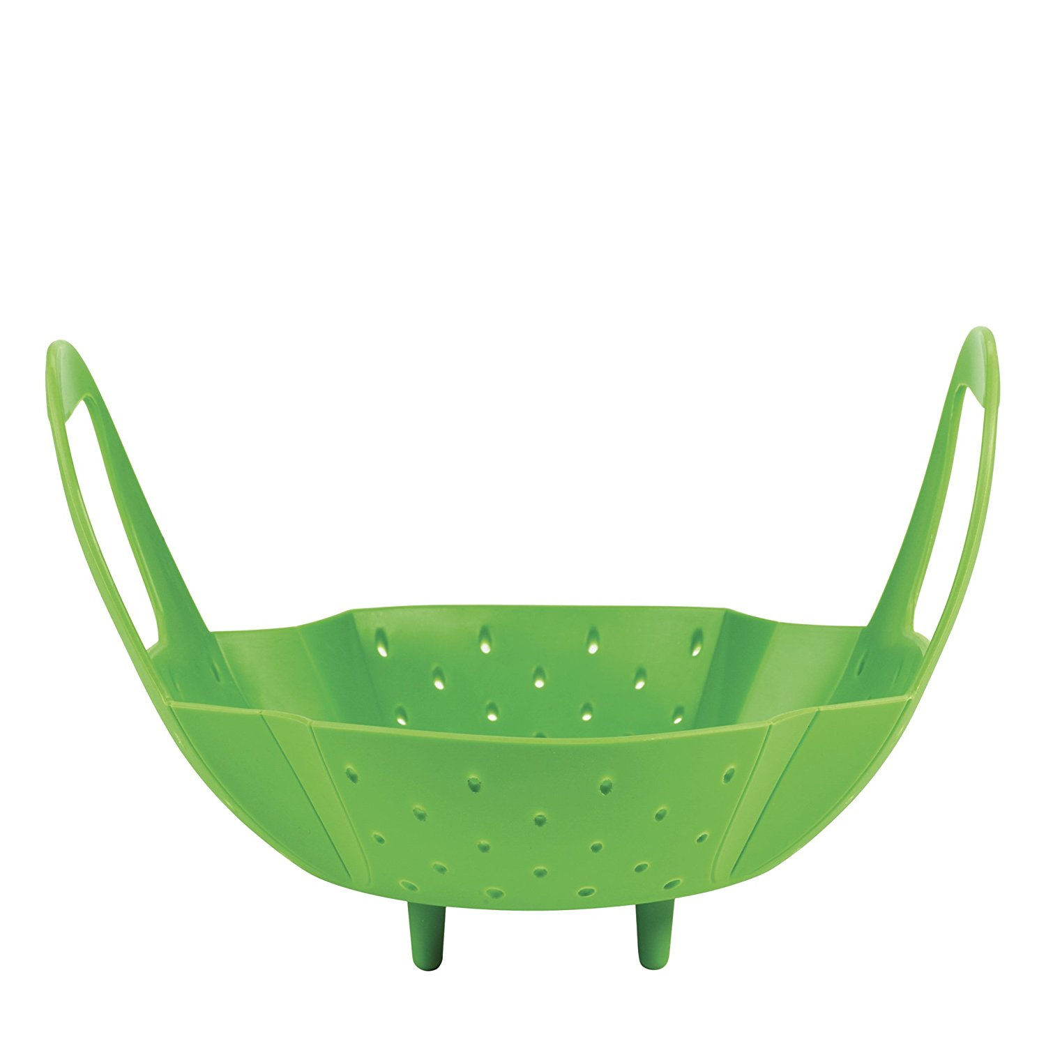 2018 OXO Good Grips Green Silicone Steamer Basket