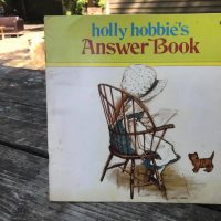 1978 Holly Hobbies Answer Book Paperback Tamara Rubin Lead Safe Mama 1