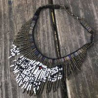 Beaded Wolf Necklace Lead Safe Mama Tamara Rubin