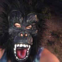Gorilla Halloween Mask Tamara Rubin Lead Safe Mama 2018