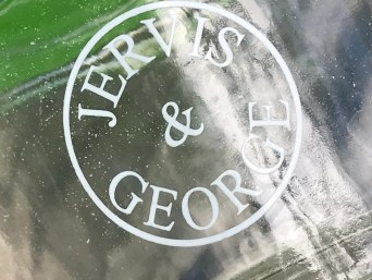 "Is there lead paint on the outside of my ""Jervis & George"" reusable glass baby food container?"