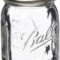 2-Cup 2018 Clear Glass Ball Jar Lead Safe Mama 6