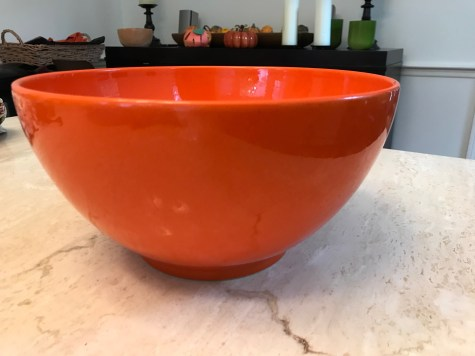 Orange Waechtersbach German Bowl from Williams Sonoma