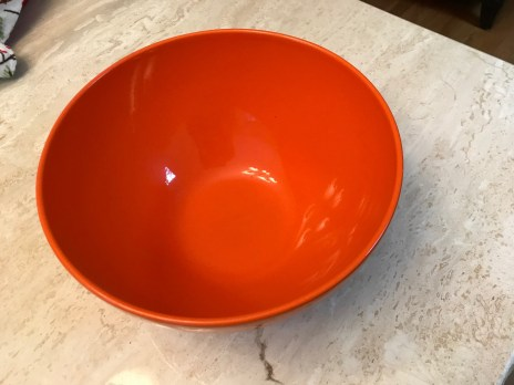 Orange Waechtersbach German Bowl from Williams Sonoma