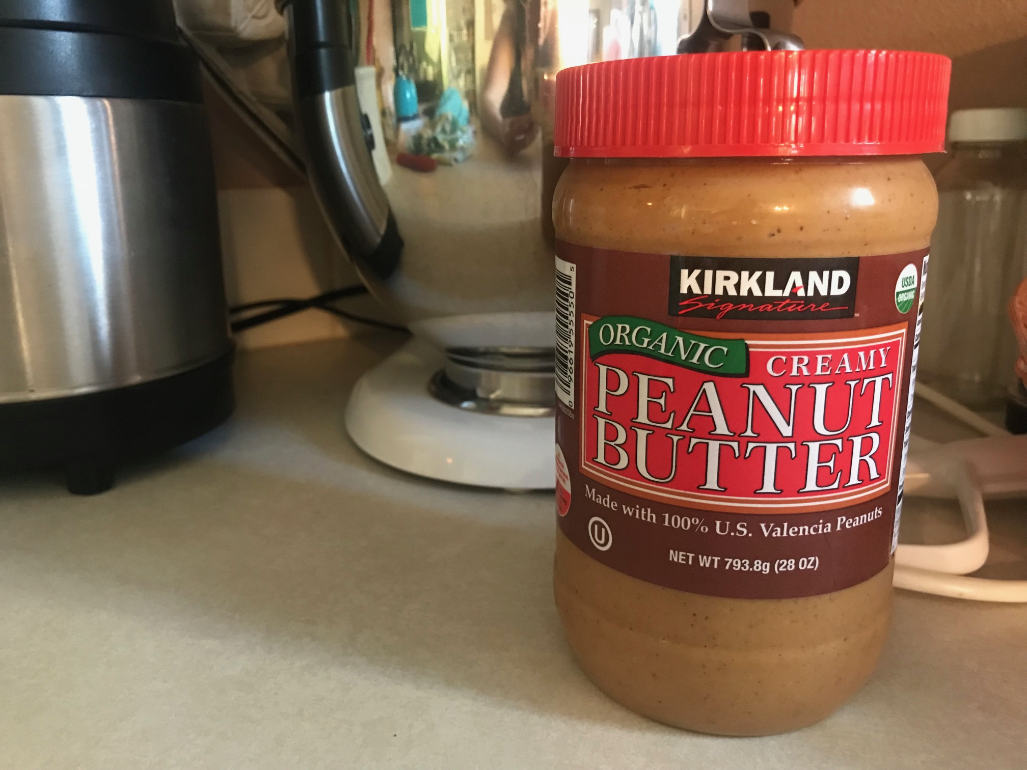 NLR: Please don't ever buy peanut butter packaged in plastic