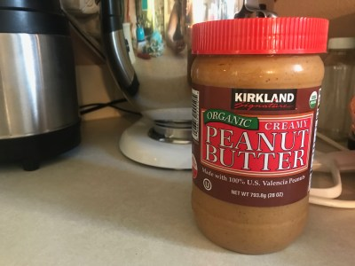 "#NLR: Please don't ever buy peanut butter packaged in plastic ""jars""."