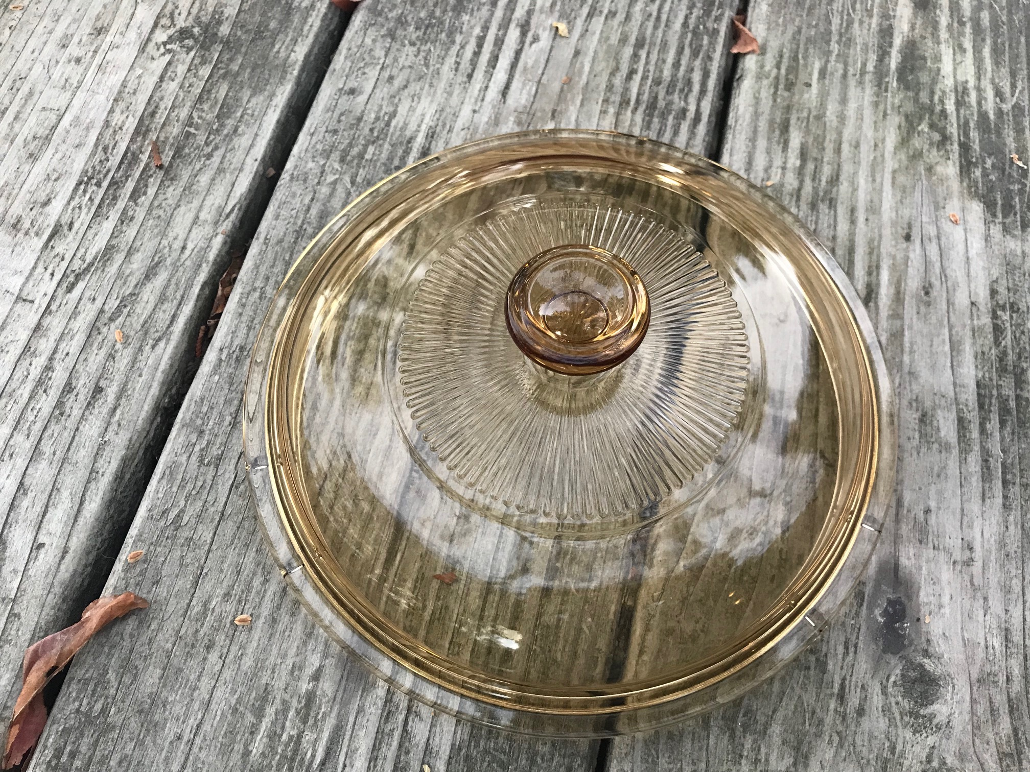 XRF Test Results For Corelle / Corning Visionware Small Amber Lid Purchased March 2018