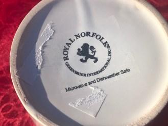 2018 Dollar Store I Love Santa Design Ceramic Coffee Mug 1 154 Ppm Cadmium Lead Safe Mama