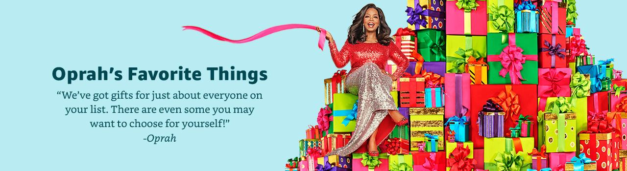 Oprah's Favorite Things listing on Amazon.com