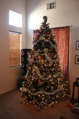 Artificial (c. 2008) Christmas tree from Costco: 5,896 ppm Lead [90 ppm is unsafe for kids.]