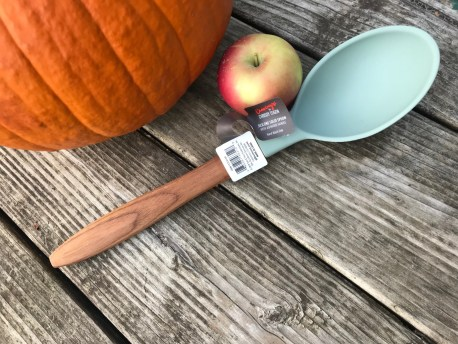 Cravings By Chrissy Teigen Wood & Green Silicone Spoon: Lead-Free!
