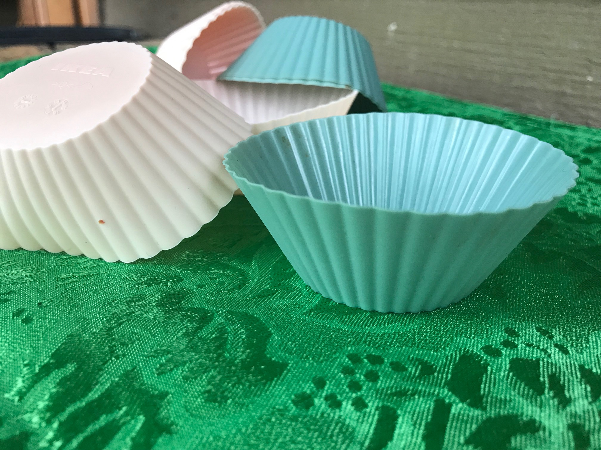 2018 Ikea Reusable Silicone Muffin Cups: Cadmium FREE!!!