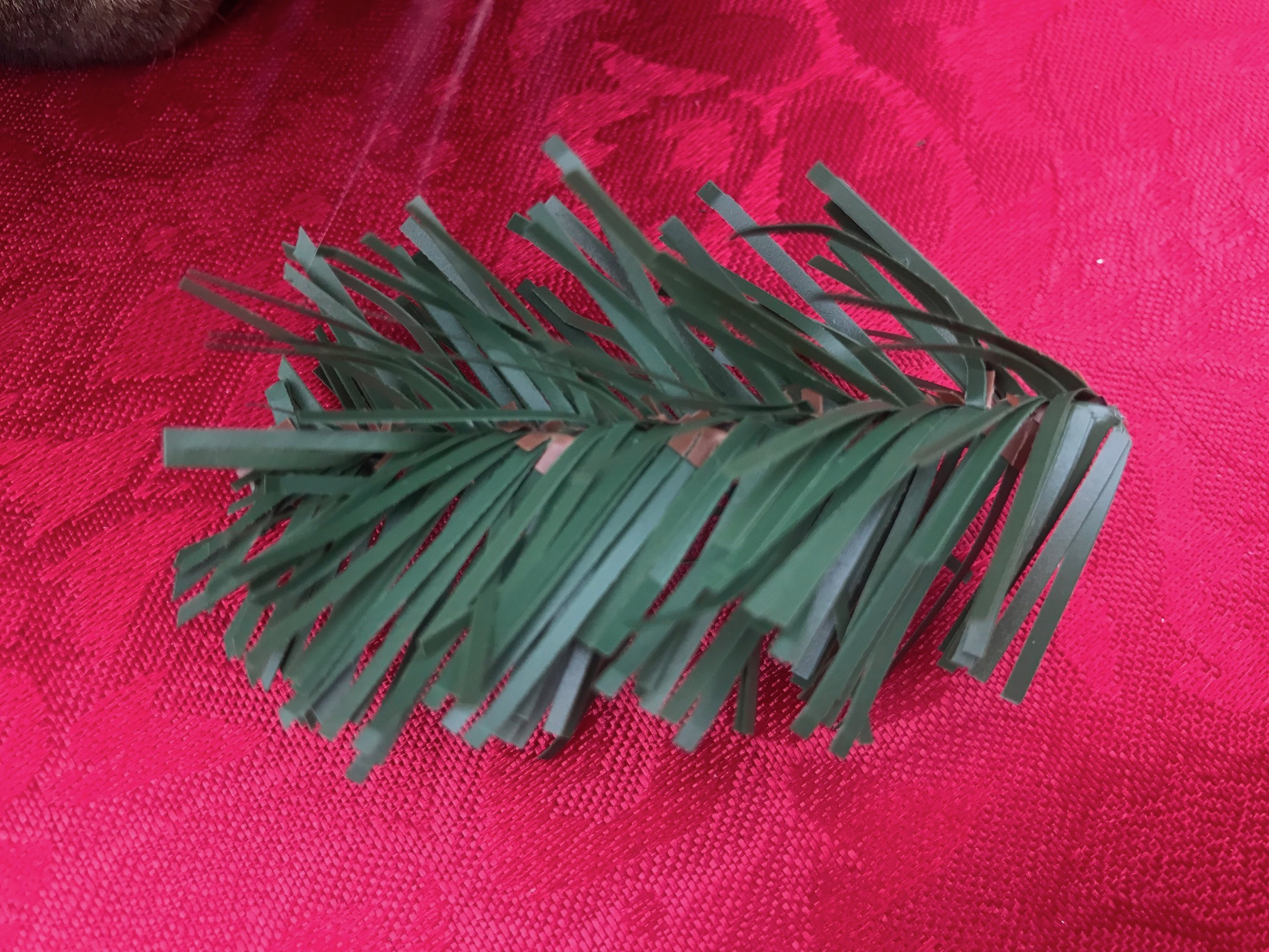Artificial GE Pre-Lit Christmas Tree Purchased c. 2016 from Home Depot: Lead Free