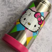 Hello Kitty Pink Stainless Thermos Lead Safe Mama 1
