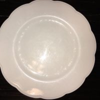 Johnson Brothers Fine China Plain White Scalloped Edges Lead Safe Mama 12