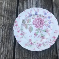 Johnson Brothers Rose Chintz Plate Lead Safe Mama 1