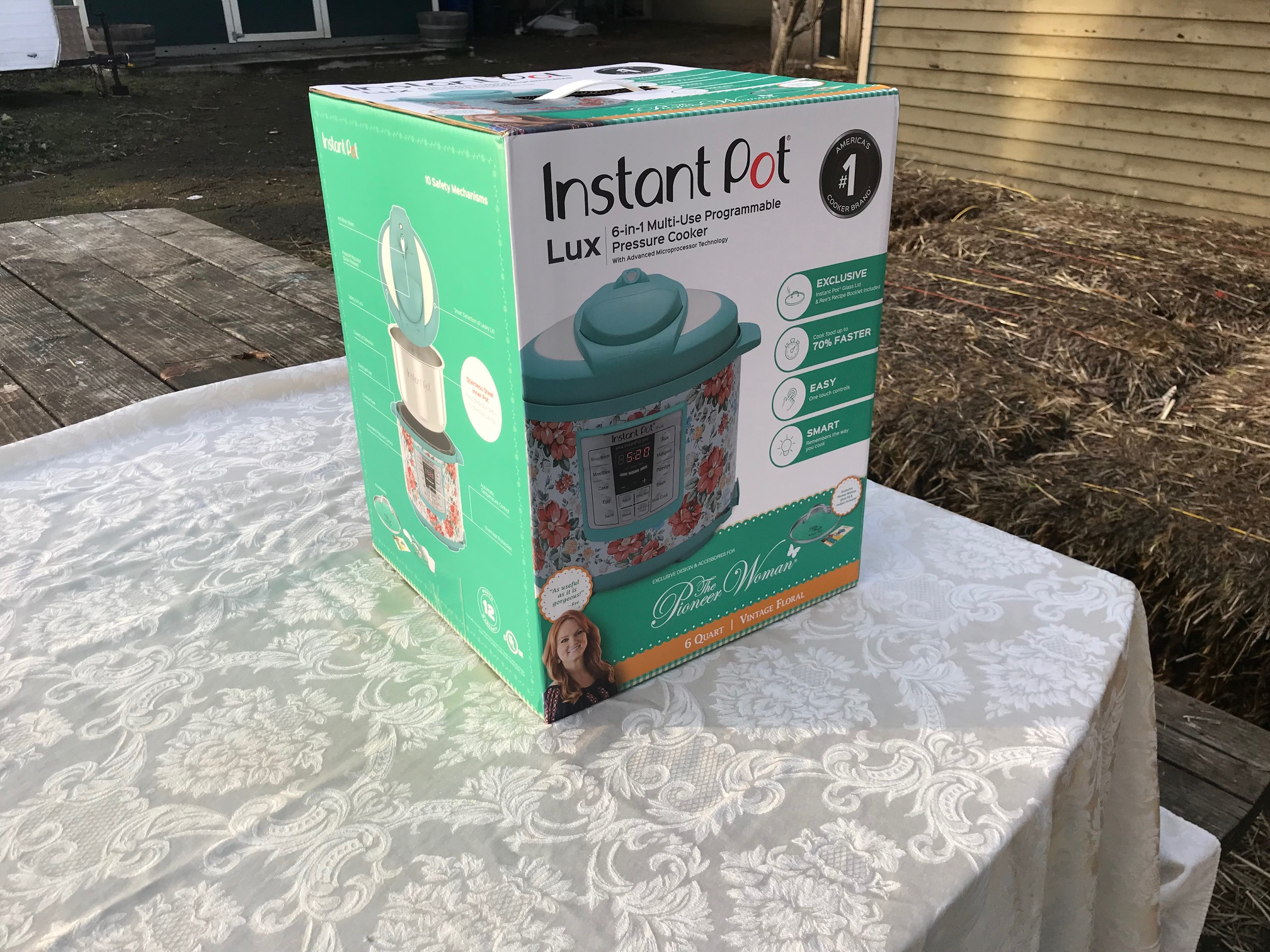 """XRF test results for Pioneer Woman Instant Pot: Heating Element Positive for 443 ppm Lead. Instant Pot is the """"lead-safest"""" option out there."""
