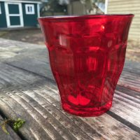 Red Duralex Picardie Colors Tumbler 2018 Made In France Lead Safe Mama 1