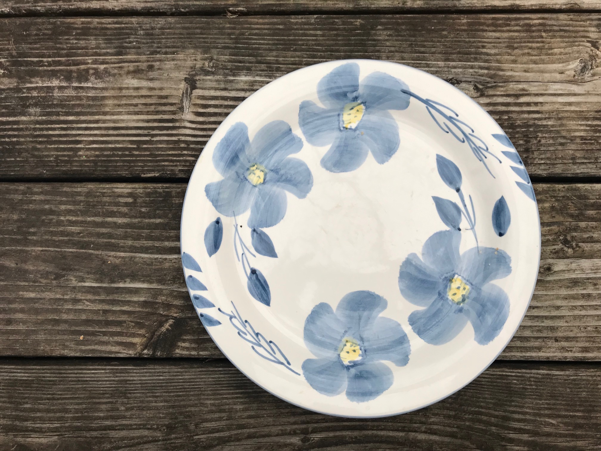 99 Cent Only Store c. 1999 Floral Pattern Ceramic Plate (No Maker's Mark): 49,400 +/- 1,400 ppm Lead.