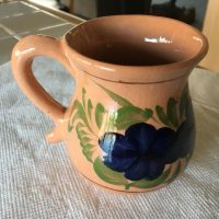 Diane Vintage Antique Mexican Mug Lead Safe Mama 1