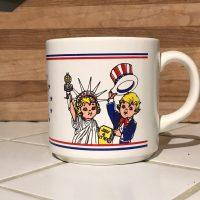 1976 Campbells Soup Salutes America Ceramic Mug Lead Safe Mama 3
