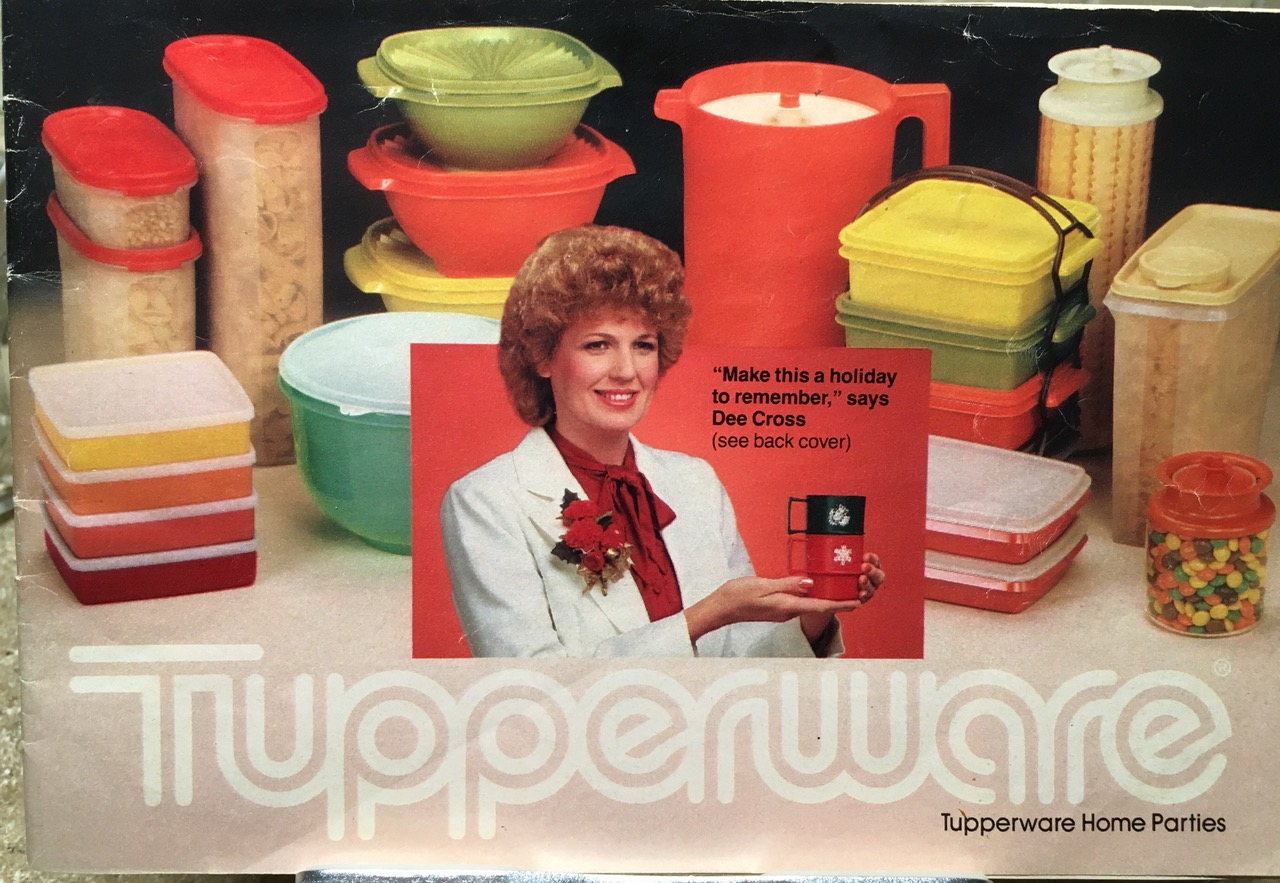 Tupperware Home Parties 1982 Catalog Cover Lead Safe Mama Toxic Tupperware