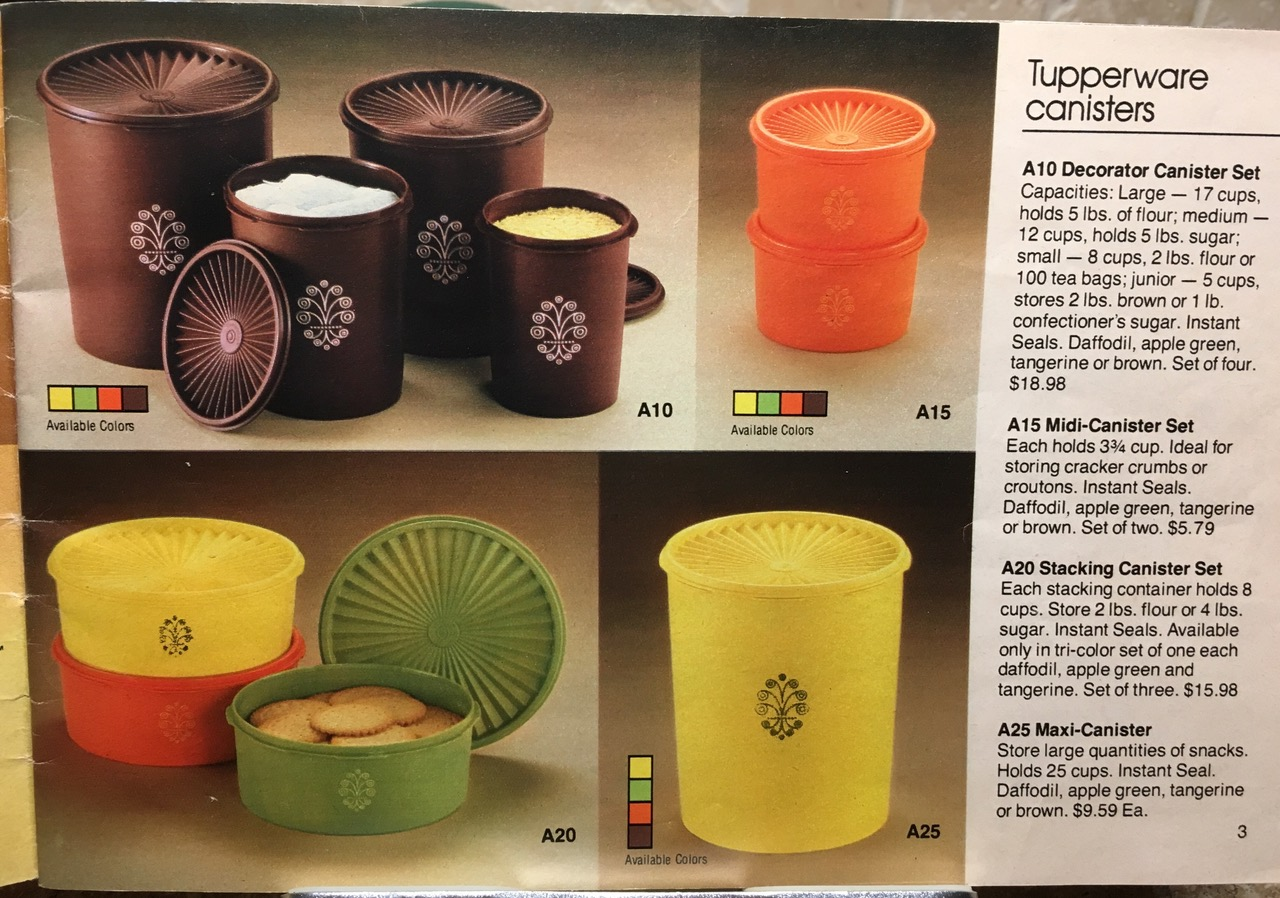 1982 Tupperware Canisters Lead Safe Mama Toxic Tupperware