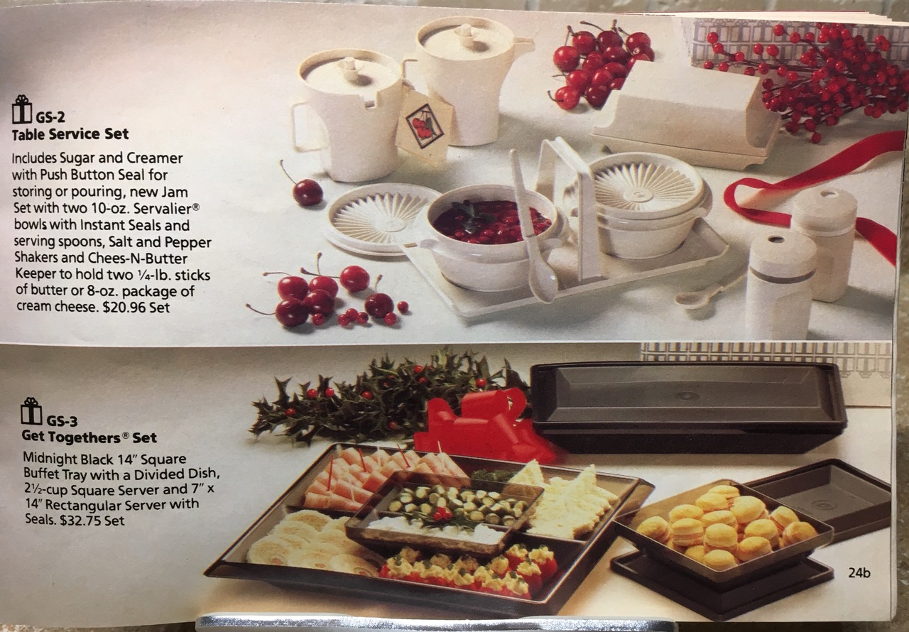1982 Tupperware Holiday Set Lead Safe Mama Toxic Tupperware