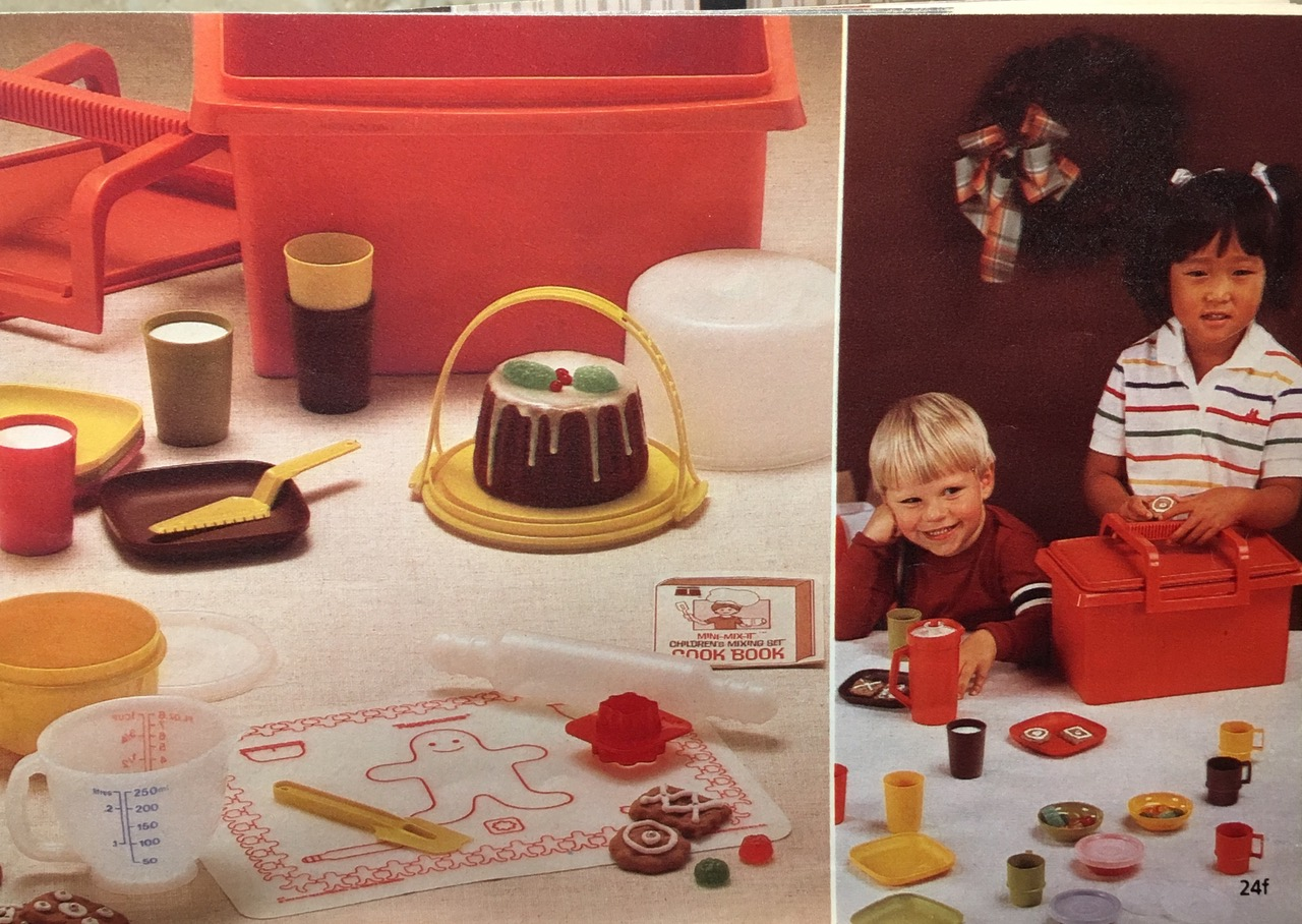 1982 Tupperware Toys for Children Vintage Toxic Tupperware Lead Safe Mama