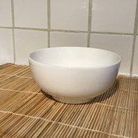 Dowan Bone China White Ceramic Bowl Lead Safe Mama 1