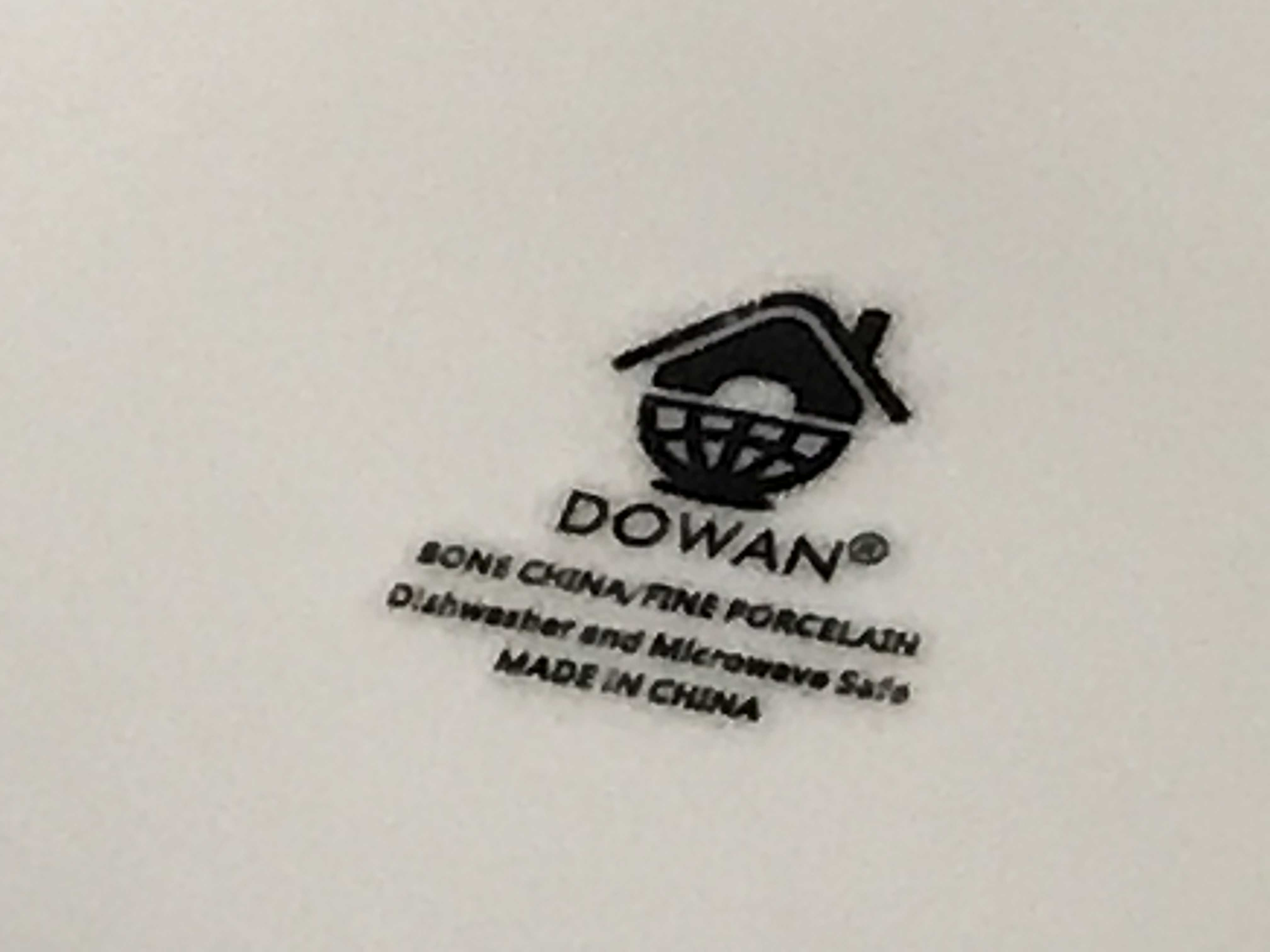 White Ceramic Bone China Fine Porcelain Dowan Bowl: 35 ppm Lead + 17 ppm Cadmium (safe by all standards).