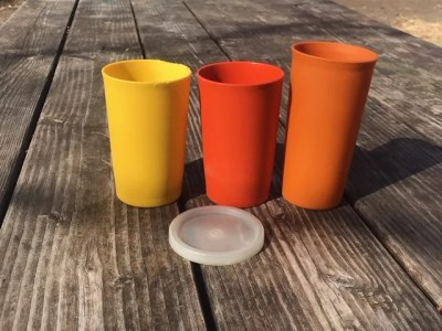 #AskTamara: How can I tell if my vintage Tupperware plastic cups are toxic? By Color? By Shape? By Age?