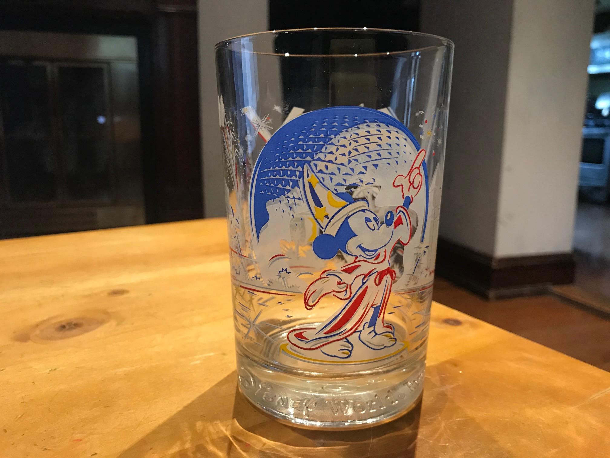 c. 1996 Mickey Mouse Disney World McDonald's 25th Anniversary Drinking Glass: 73,300 ppm Lead + 1,855 ppm Cadmium