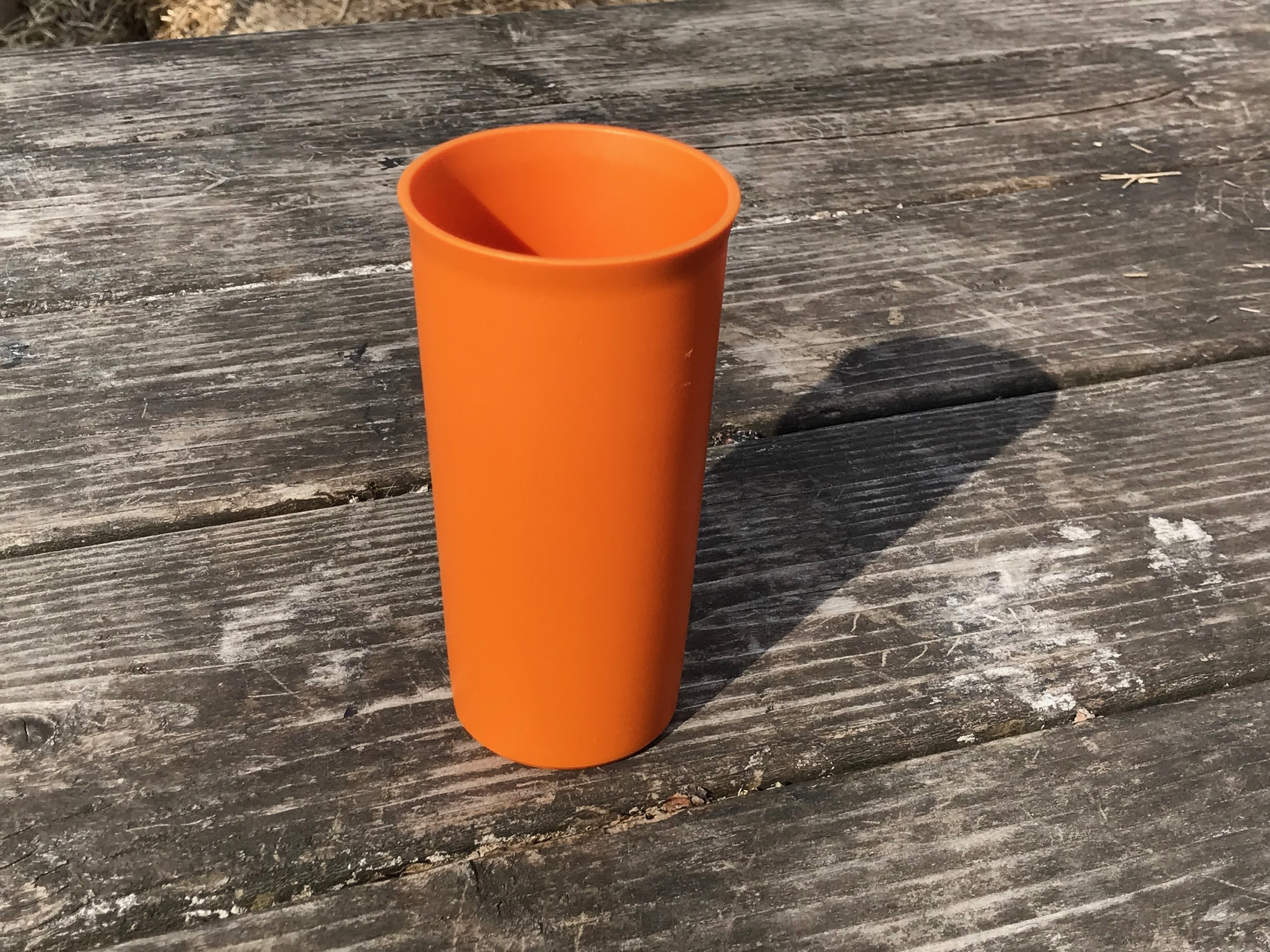 Orange Tupperware Cup (year unknown): Non-detect for Lead, Mercury, Cadmium and Arsenic.