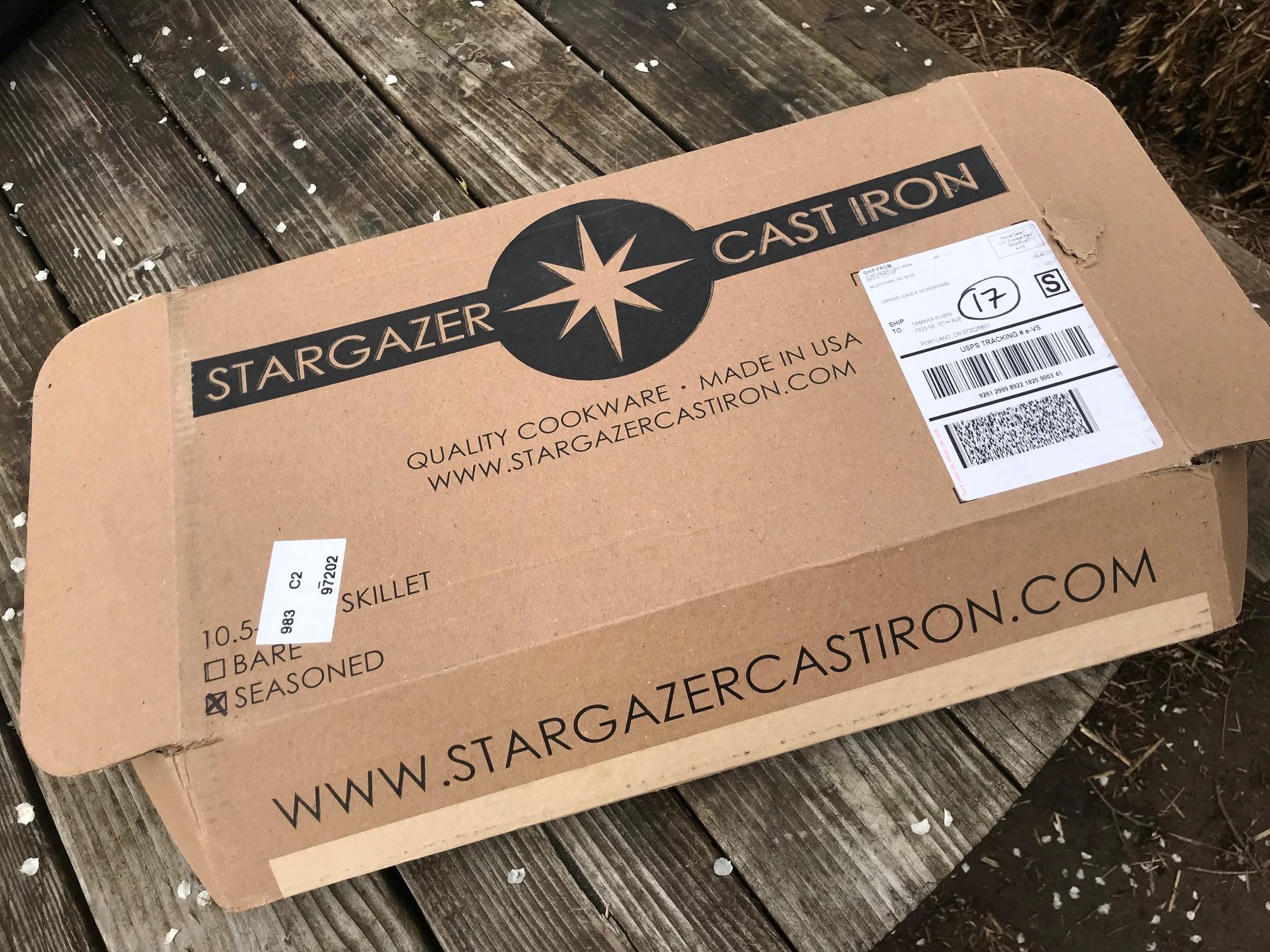 Stargazer Made In USA Pre-Seasoned Cast Iron: Lead Free [Cadmium Free, Mercury Free and Arsenic Free too!]