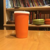 Vintage Orange Tupperware Cup Lead Safe Mama 2