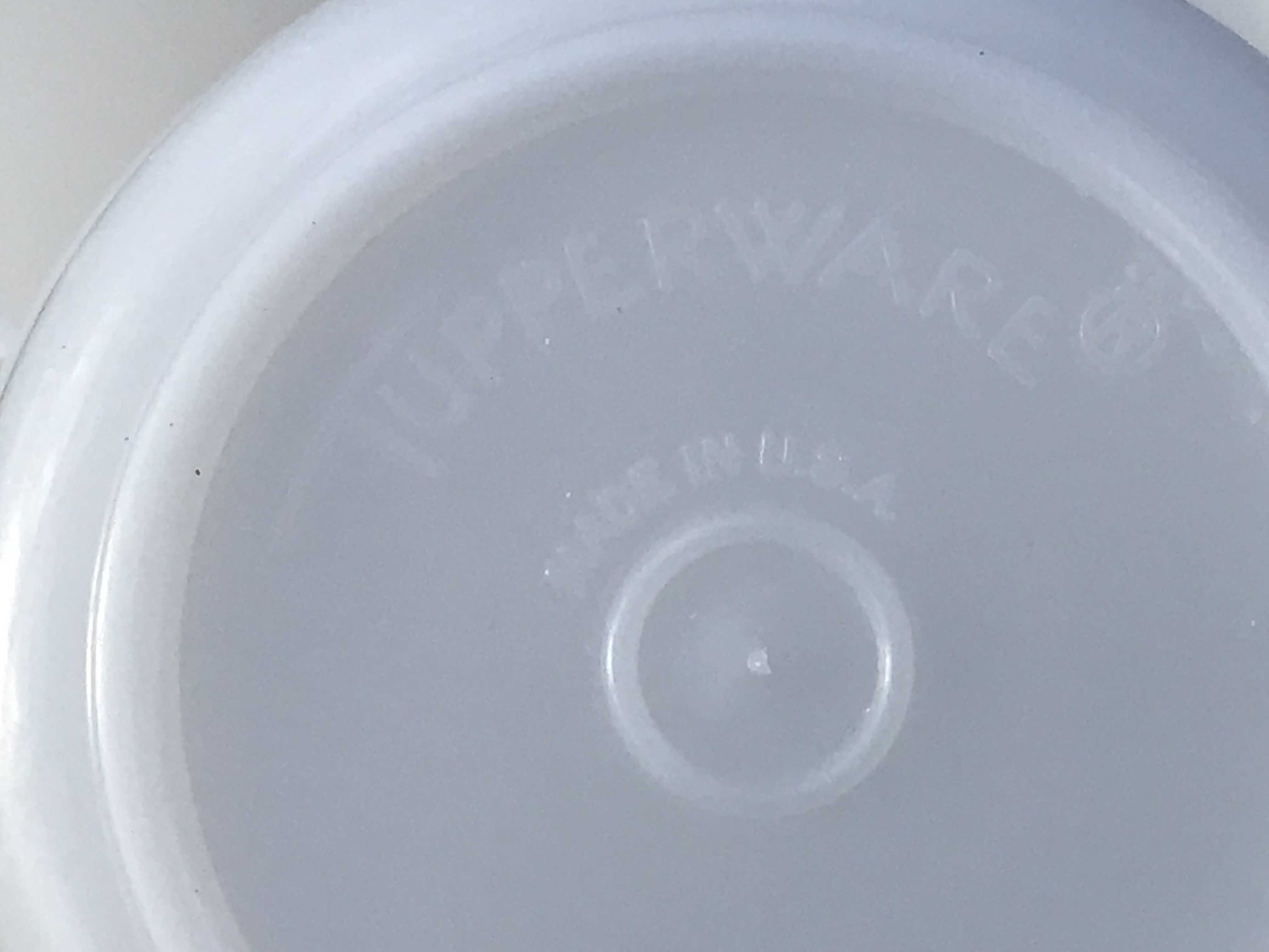 White Tupperware Vintage Measuring Cups: Non-detect for Lead, Mercury, Cadmium and Arsenic.