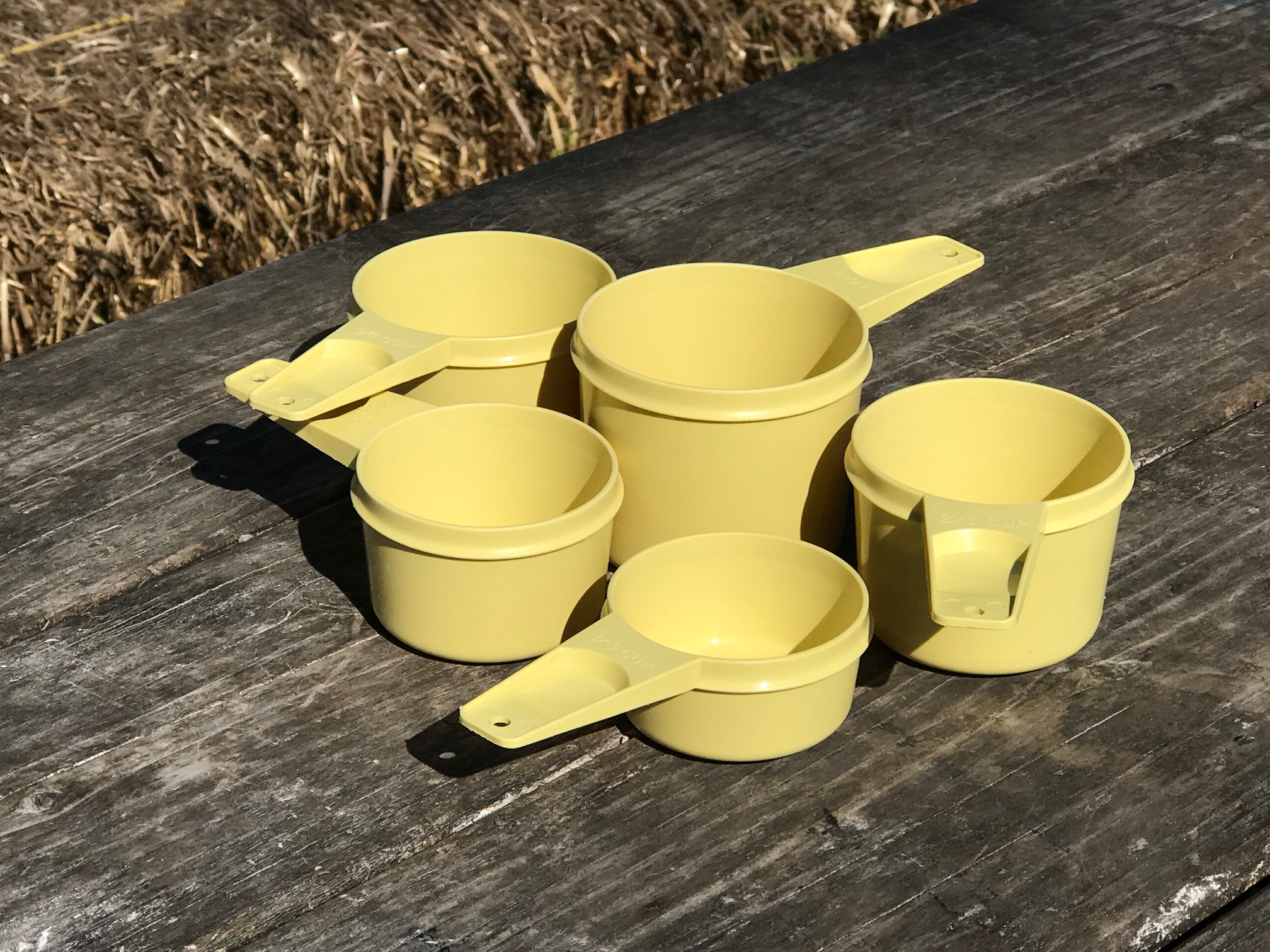Stop Using Your Vintage Tupperware Now These Measuring Cups Are Positive For 2 103 Ppm Lead 250 Ppm Arsenic Lead Safe Mama