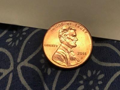 """2018 U.S. """"Copper"""" Penny: 579,100 ppm Zinc & 419,200 ppm Copper. No Lead, No Cadmium, No Mercury, No Arsenic."""