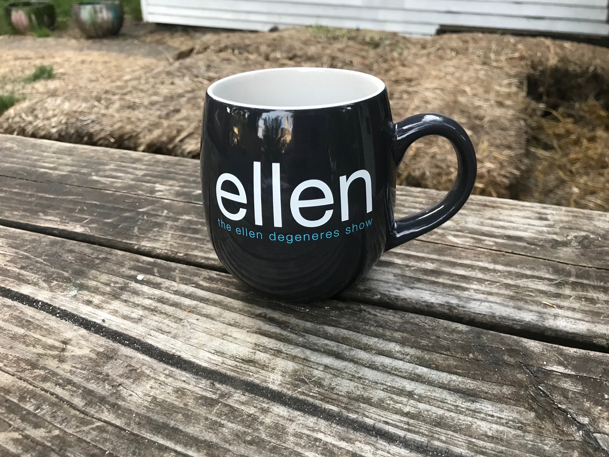 "Talk Show ""Set Mugs"" Series (Used By Hosts & Guests) Ellen Show: Lead Free & Cadmium Free!"