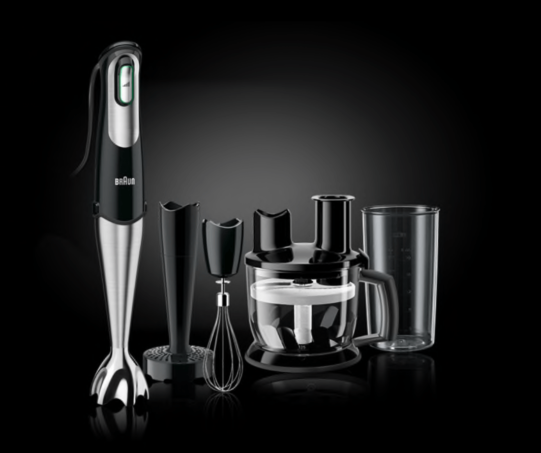 Braun Multiquick Hand Blender Food Processor Lead Free